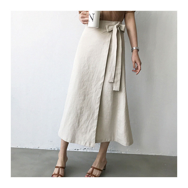 Side Tie Skirt